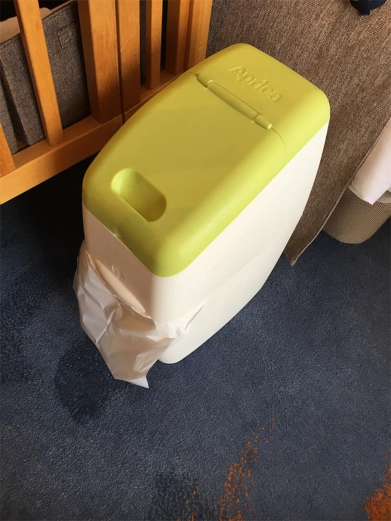 グランドプリンスホテル広島のオムツ用ゴミ箱