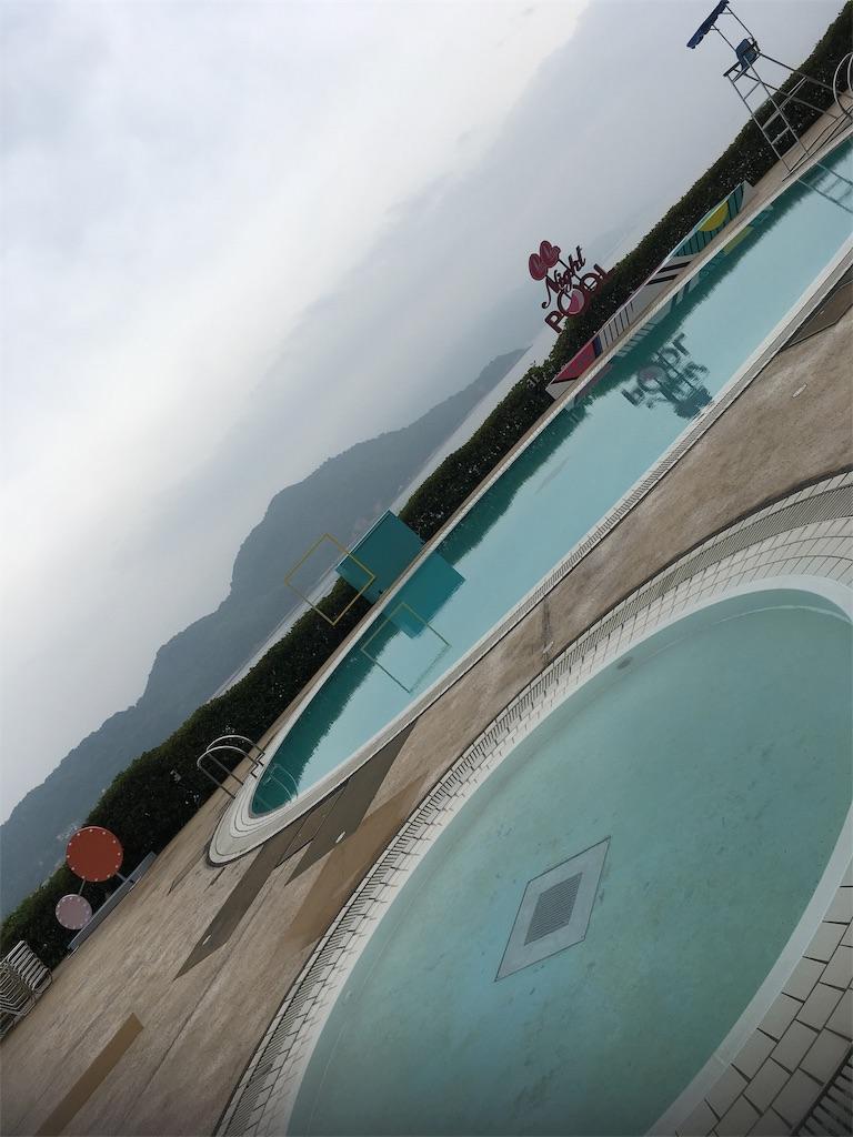 グランドプリンスホテル広島のプール