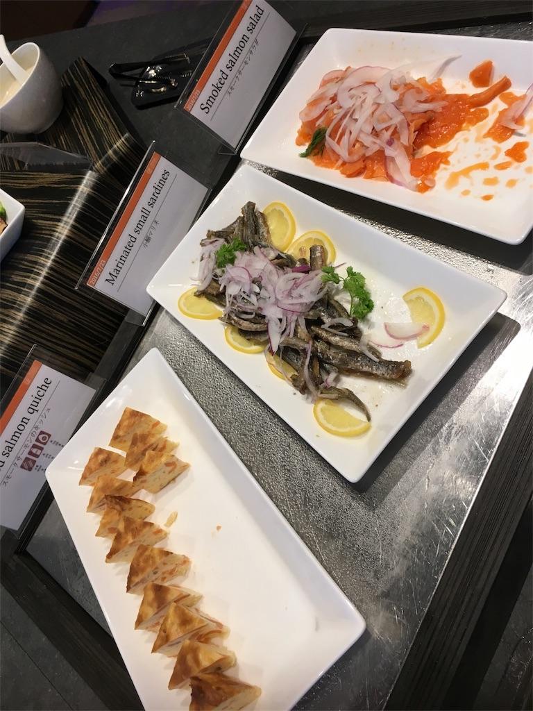 グランドプリンスホテル広島のクラブラウンジ食事