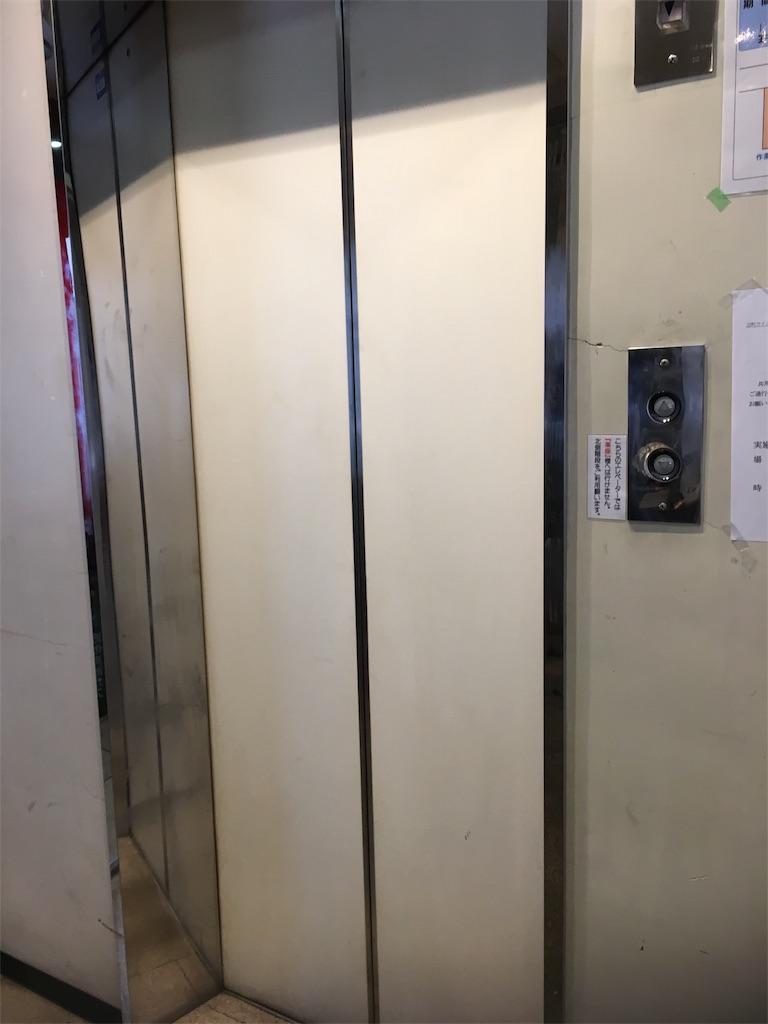 子育てオープンスペースつばさのエレベーター