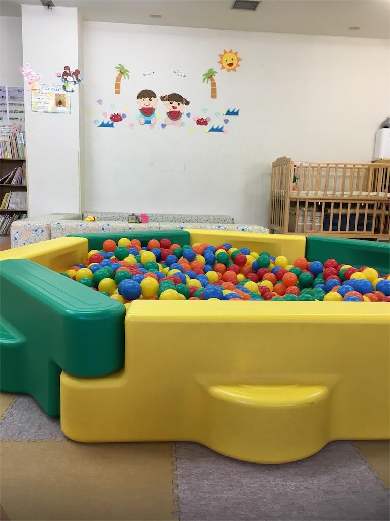子育てオープンスペースつばさのボールプール