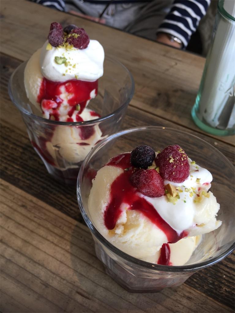 スズカフェ広島のデザートパフェ