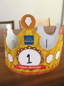 ボーネルンドキドキドのお誕生日