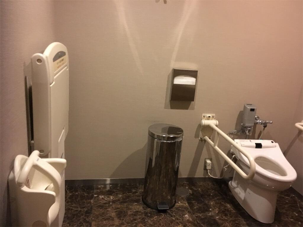 シェラトン広島のトイレ