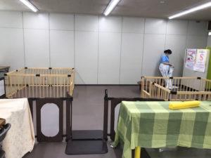 広島八丁堀の赤ちゃん広場