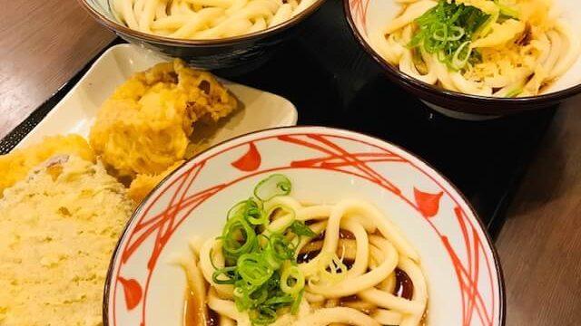 広島の丸亀製麺